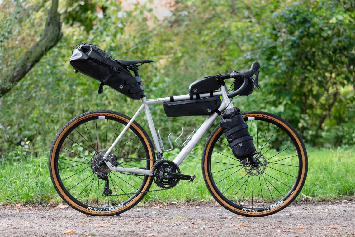 8bar bike with bikepacking bags