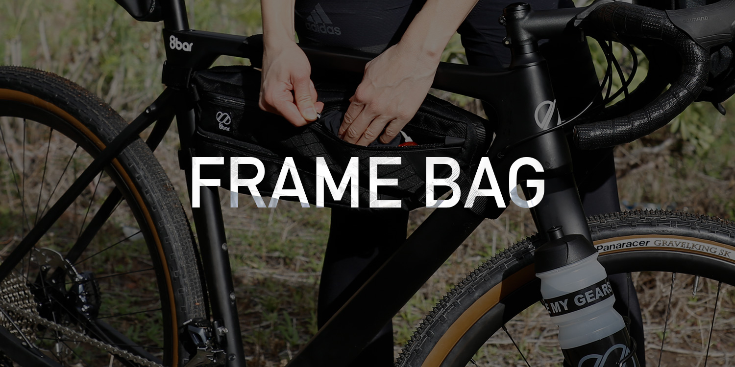 8bar adventure bags blog frame bag - Into the wild with our new adventure bags