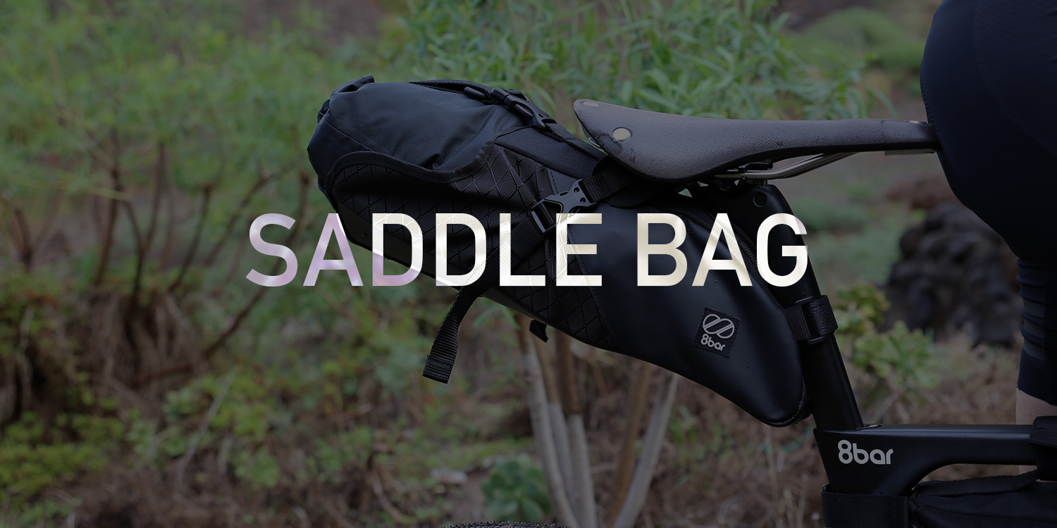 8bar adventure bags blog saddle bag - Into the wild with our new adventure bags