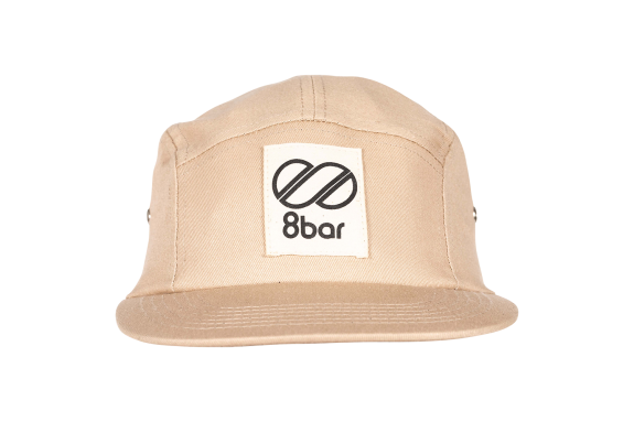 8bar casual 5panel cap - beige