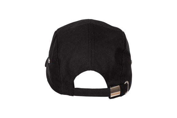 8bar casual 5panel cap - black