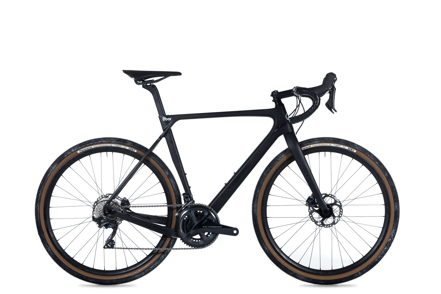 8bar complete bike grunewald carbon cx gravel black studio lr-1