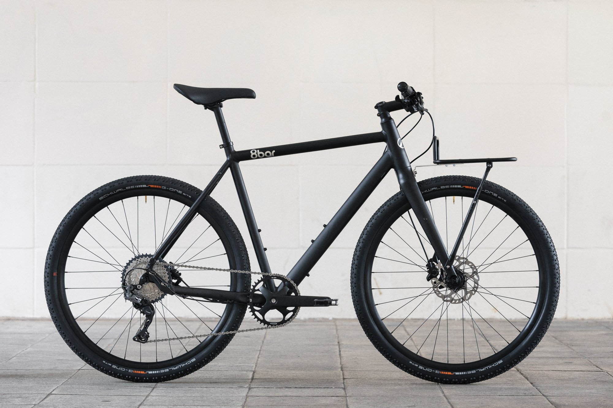 8bar complete bike mitte black urban lr-1