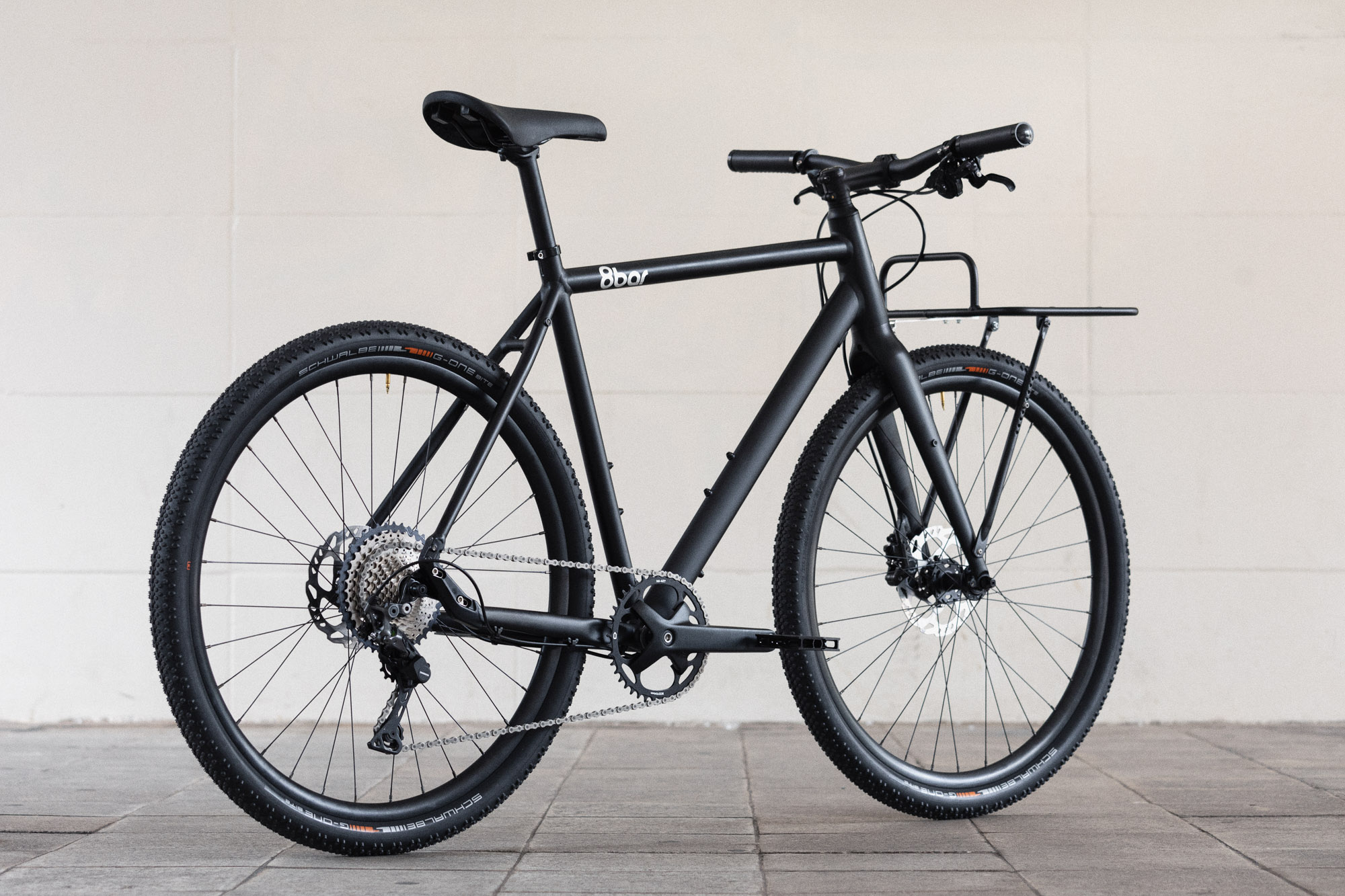 8bar complete bike mitte black urban lr-4