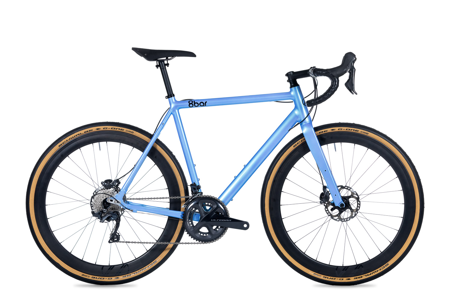 8bar complete bike mitte gravel pro blue studio lr 1 - MITTE Singlespeed Cyclocross - Comp