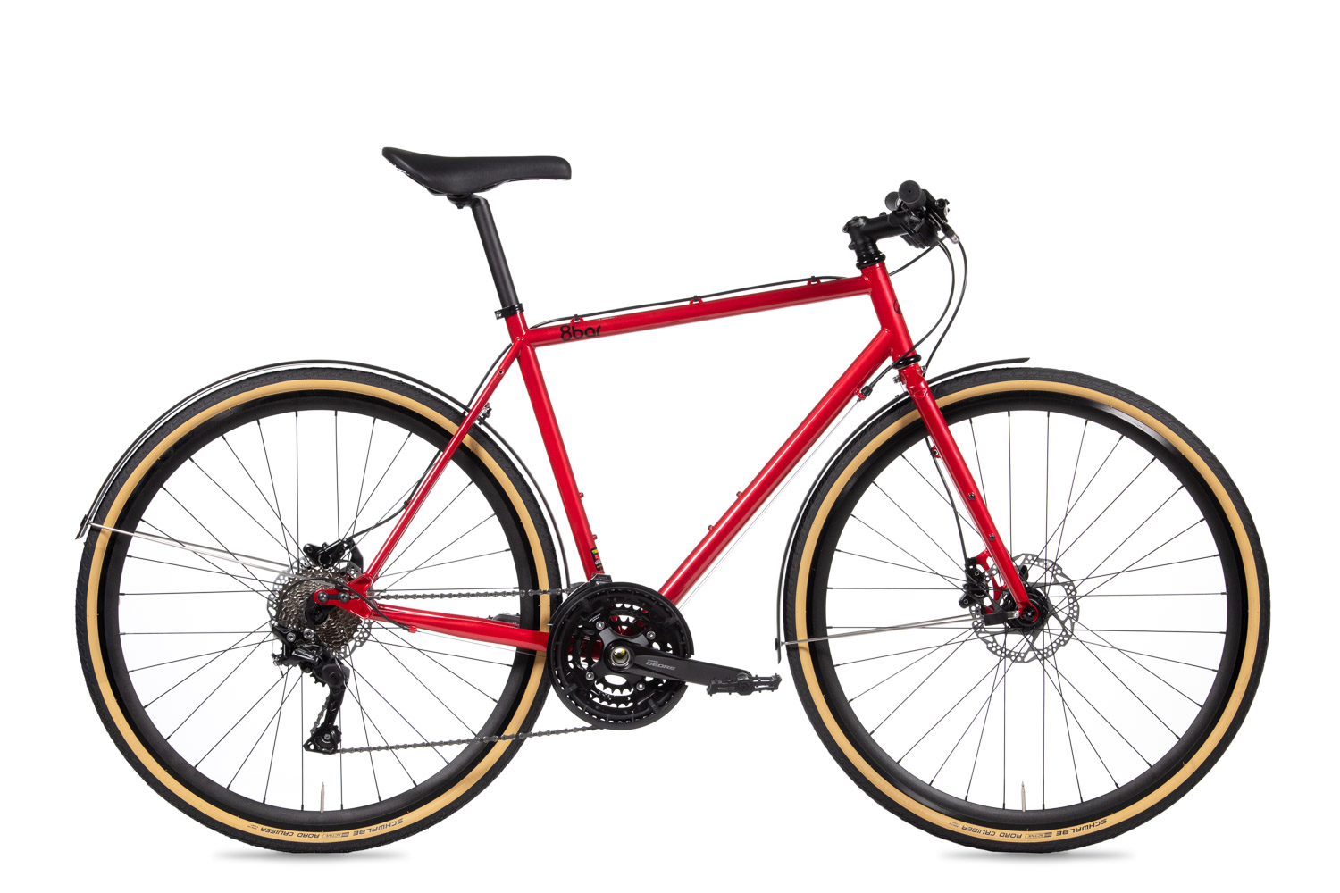 8bar complete bike mitte steel red trekking comp studio 1 - MITTE STEEL Trekking - Comp