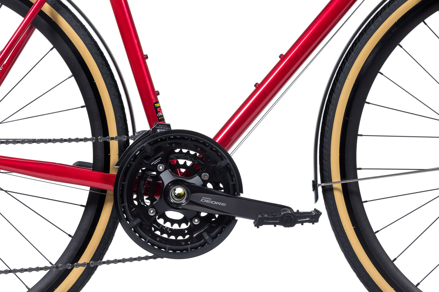 8bar complete bike mitte steel red trekking comp studio 2 - MITTE STEEL Trekking - Comp