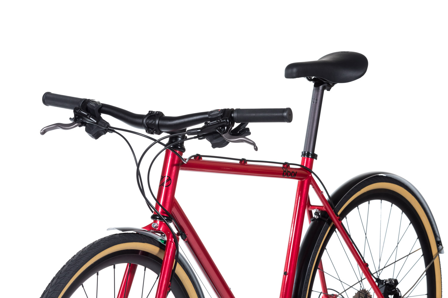 8bar complete bike mitte steel red trekking comp studio 6 - MITTE STEEL Trekking - Comp