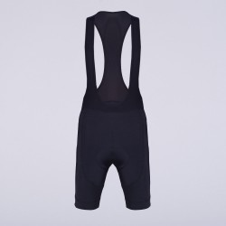 8bar fly black bib short frontside rapha