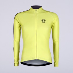 8bar fly yellow jersey long frontside rapha