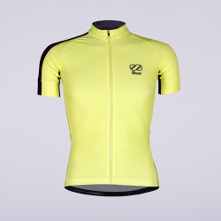 8bar fly yellow jersey short frontside rapha
