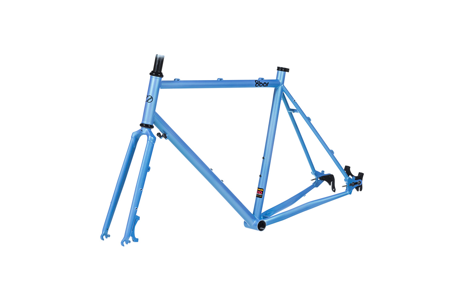 8bar frames set 45grad mitte steel all road gravel blue
