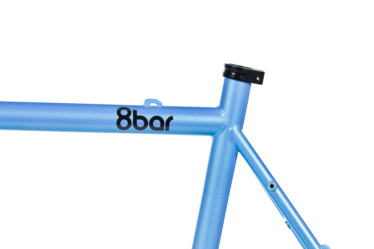 8bar frames set detail mitte steel all road gravel blue