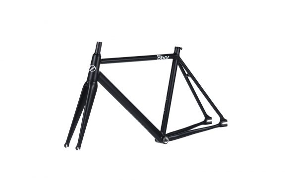 8bar frameset 45 tmplhof black fixie fixed gear bike lr 575x383 - TMPLHOF FRAMESET