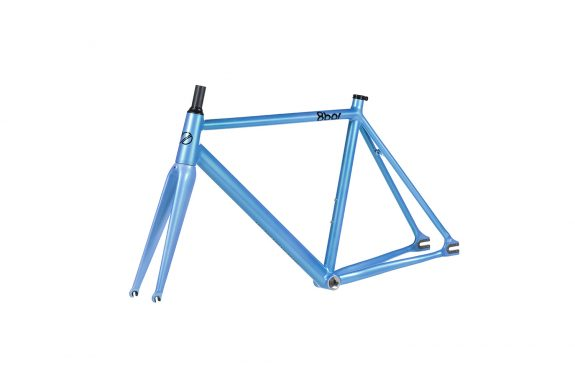 8bar frameset 45 tmplhof blue fixie fixed gear bike lr 575x383 - TMPLHOF FRAMESET