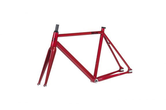 8bar frameset 45 tmplhof red fixie fixed gear bike lr 575x383 - TMPLHOF FRAMESET