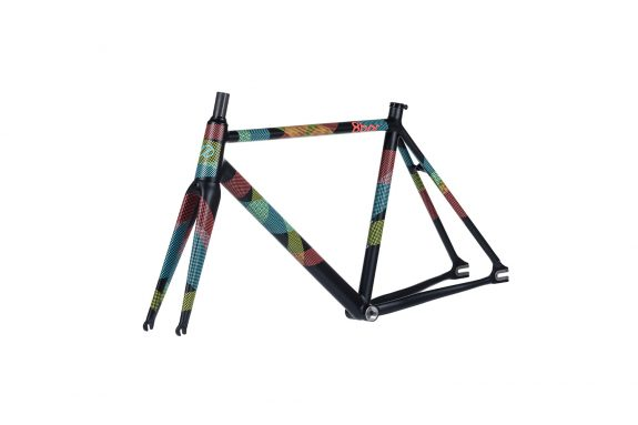 8bar frameset 45 tmplhof team edition fixie fixed gear bike lr 575x383 - TMPLHOF FRAMESET