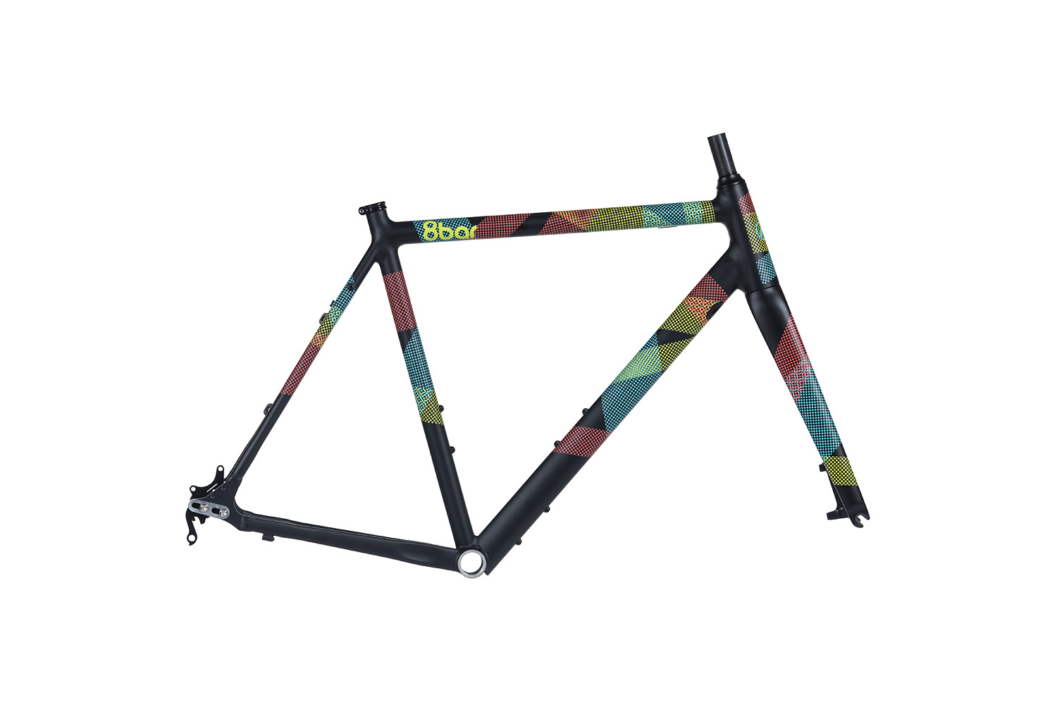 8bar frameset mitte team edition road bike lr