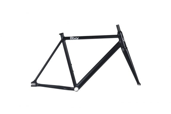 8bar frameset tmplhof black fixie fixed gear bike lr 575x383 - TMPLHOF FRAMESET