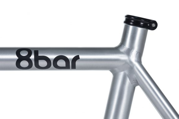 8bar frameset tmplhof raw detail fixie fixed gear bike lr 2 575x383 - TMPLHOF FRAMESET