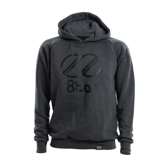 8bar hoddie dark grey logo s 575x575 - Hoodie - 8bar logo