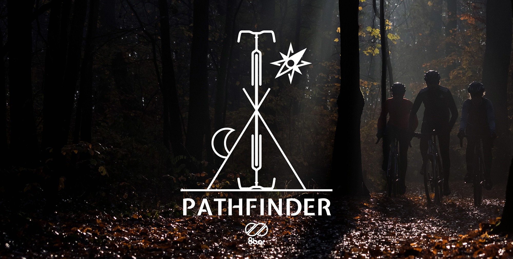 8bar pathfinder logo 2000x1000 background - 8bar Gravel Pathfinder