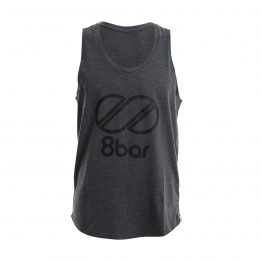 8bar shirt grey logo 262x262 - Tanktop - 8bar Logo