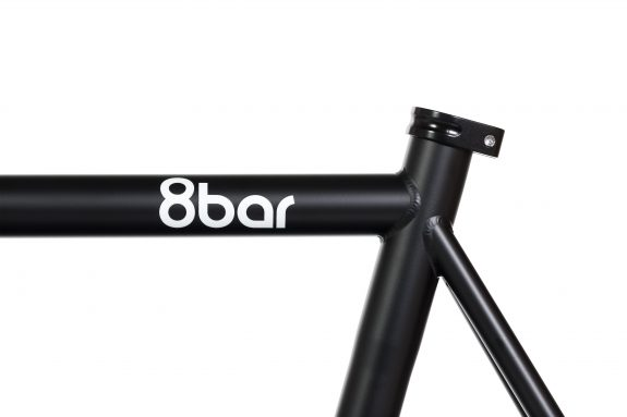 8bar studio detail fhain steel black bike fixed gear fixie 2 575x383 - FHAIN STEEL v1 Rahmenset