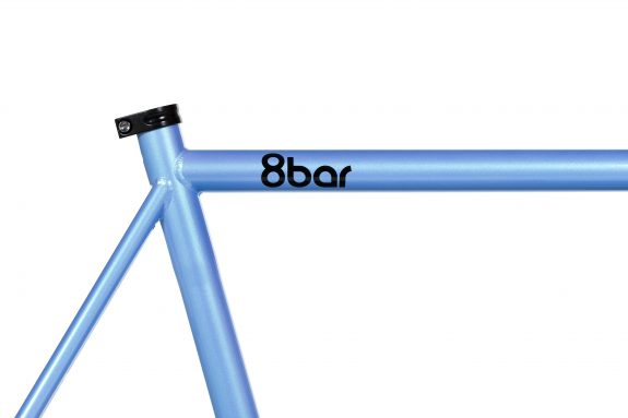8bar studio detail fhain steel blue bike fixed gear fixie 1 575x383 - FHAIN STEEL v1 Rahmenset