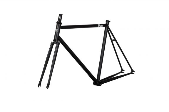 8bar studio frameset 45grad fhain steel black bike fixed gear fixie 575x383 - FHAIN STEEL v1 Rahmenset
