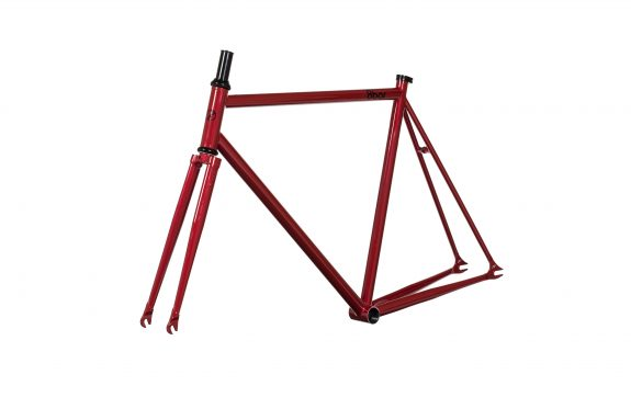 8bar studio frameset 45grad fhain steel red bike fixed gear fixie 575x383 - FHAIN STEEL v1 Rahmenset