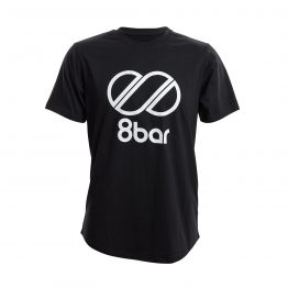 8bar tshirt black logo s 1 262x262 - T-shirt - 8bar logo