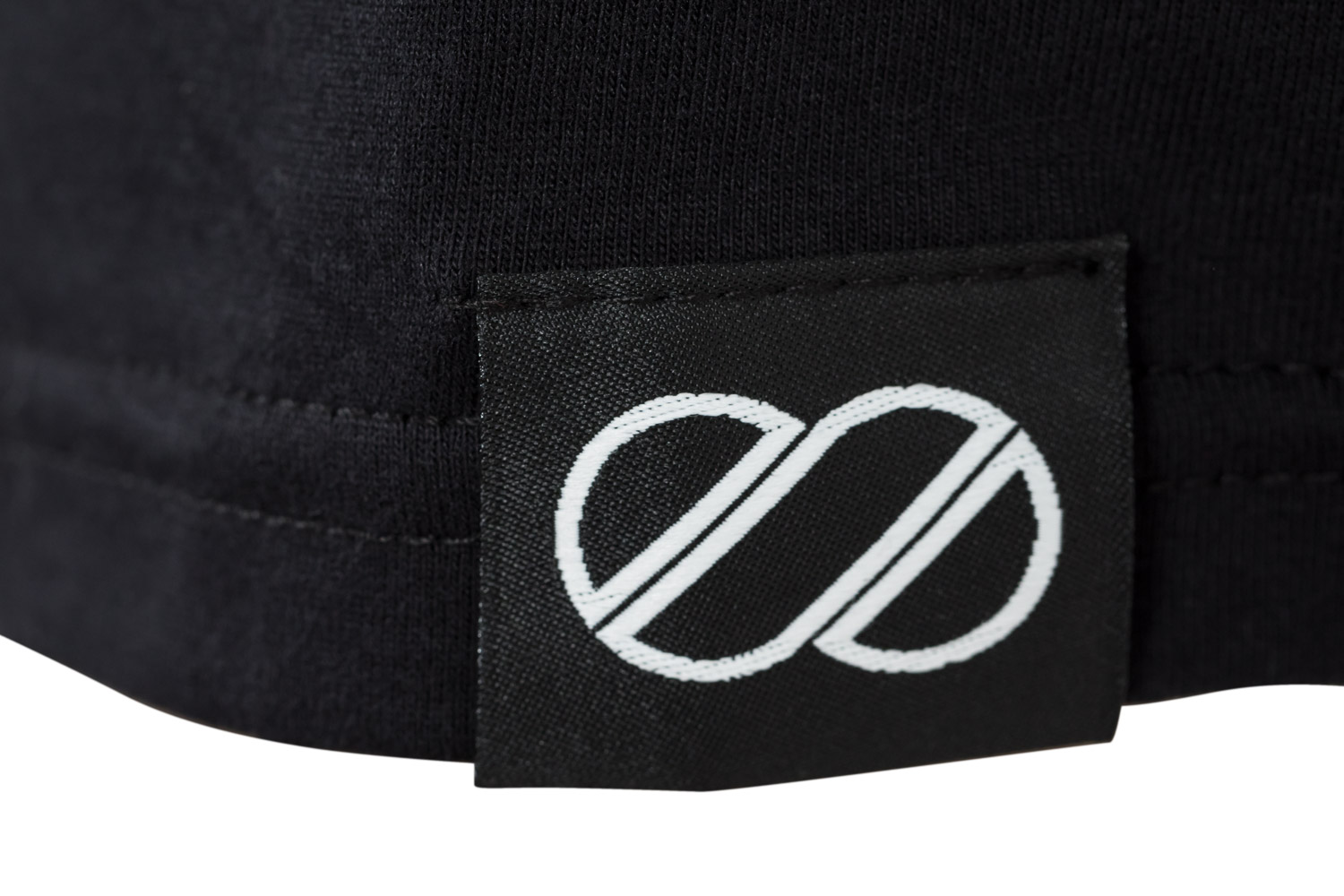 8bar tshirt detail black - Hoodie - 8bar logo