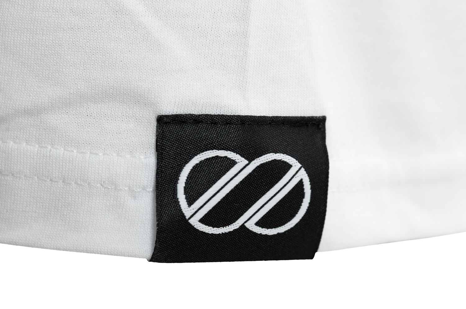 8bar tshirt detail white - Hoodie - 8bar logo