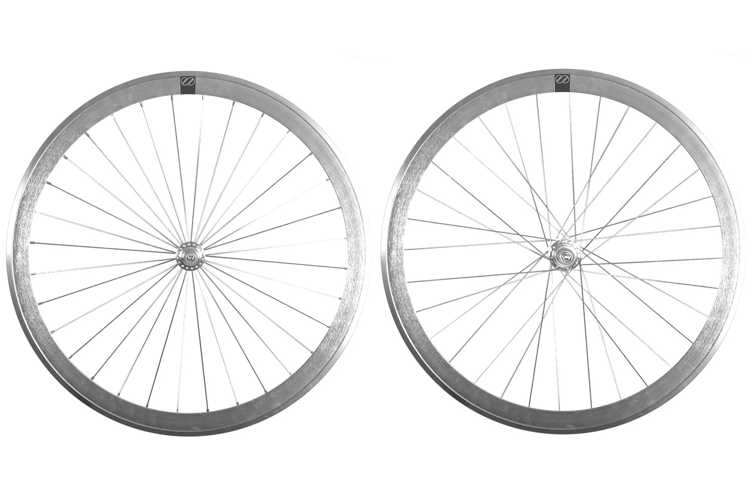 8bar wheels mega silver set fixie fixedgear - MEGA Laufräder