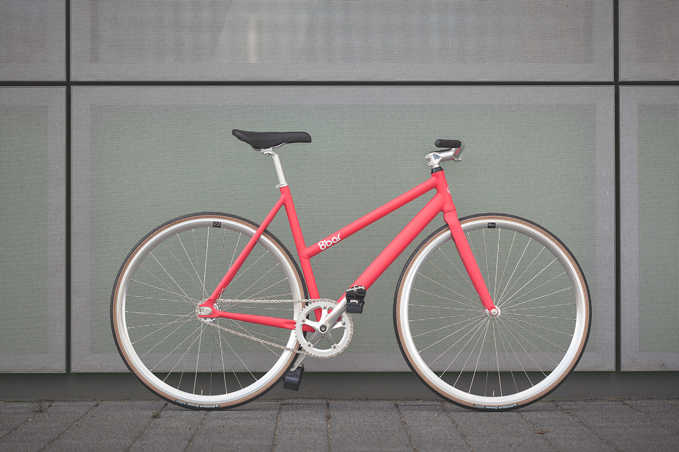 8bar fhain v2 women candy pink fixed gear fixie complete wmn 006 1 - FHAIN V2 WMN URBAN - COMP
