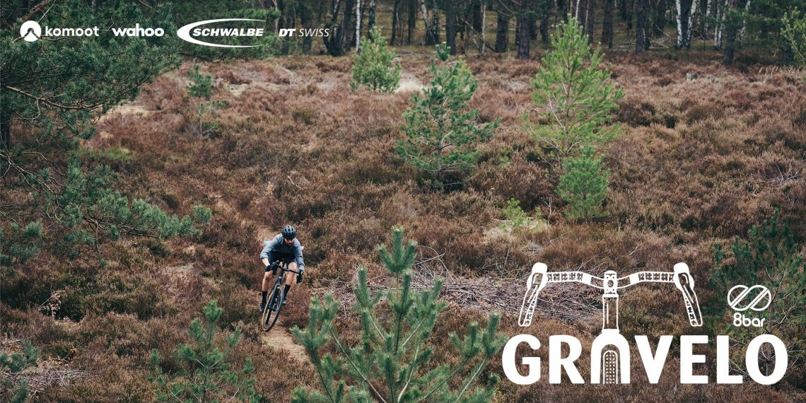 8bar gravelo title image nature with bike