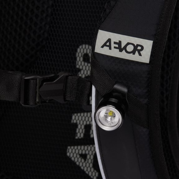 AEVOR Bike Pack detail with light