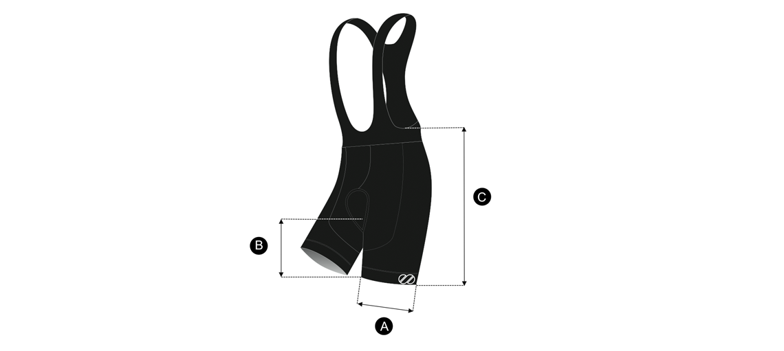 bib sizing chart - BLN Edition - Cycling Bib - Unisex