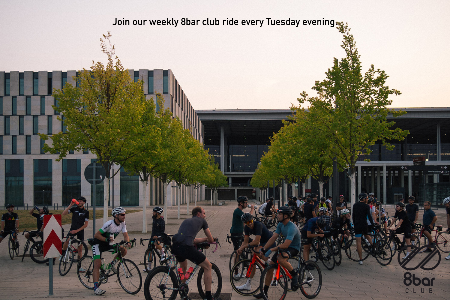 Join our weekly 8bar club ride every Tuesday evening 002