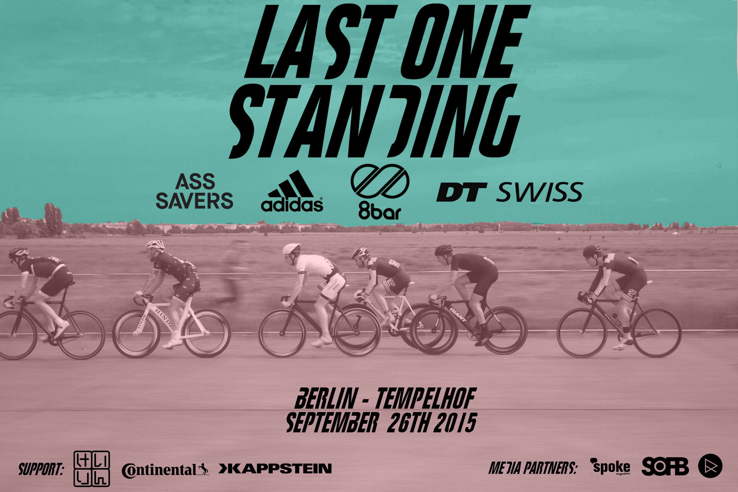 last one standing flyer - 8bar - Last One Standing - Berlin