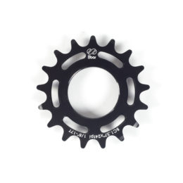 sprocket-8bar-alu-17t-black