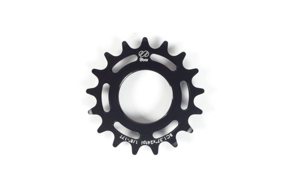 sprocket 8bar alu 17t black 575x383 - GIGA Fixie Ritzel