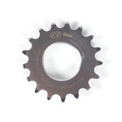 sprocket-8bar-steel-17t-silver