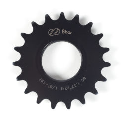 sprocket-8bar-steel-19t-black