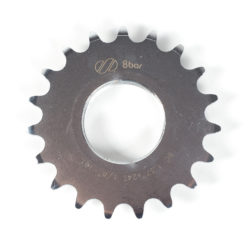 sprocket-8bar-steel-19t-silver