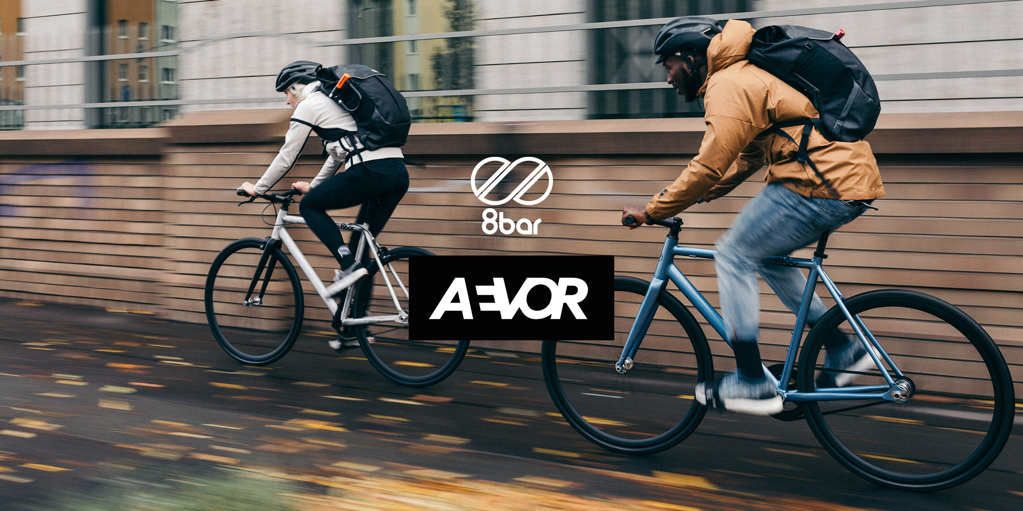 aevor x 8bar cyclists title