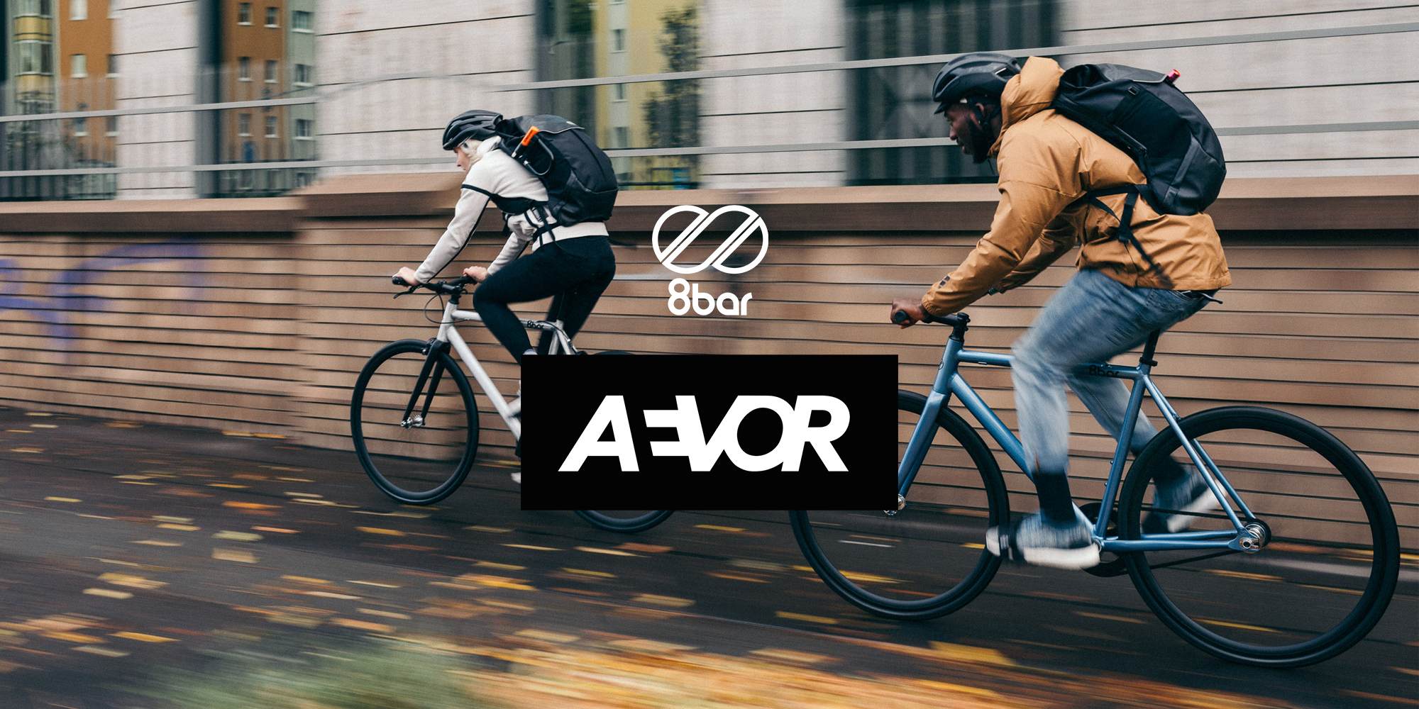 8bar aevor image with two cyclists